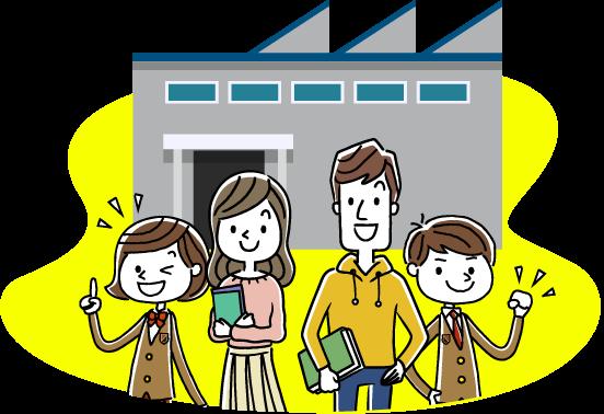 学校の学習だけでは難しい、社会や企業を学び、自分自身を見つける「実践的社会学習の場」。それがワカモノート。